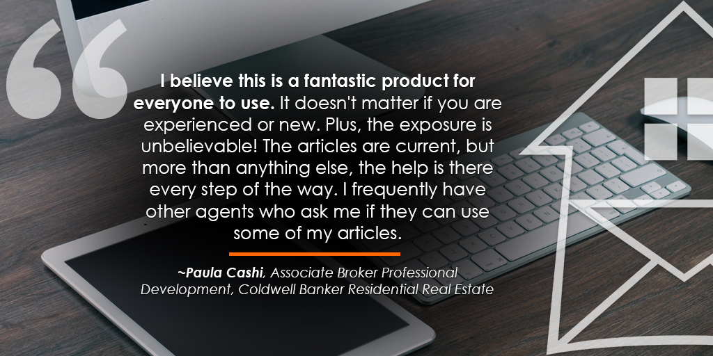Coldwell Banker Paula Cashi HA Testimonial