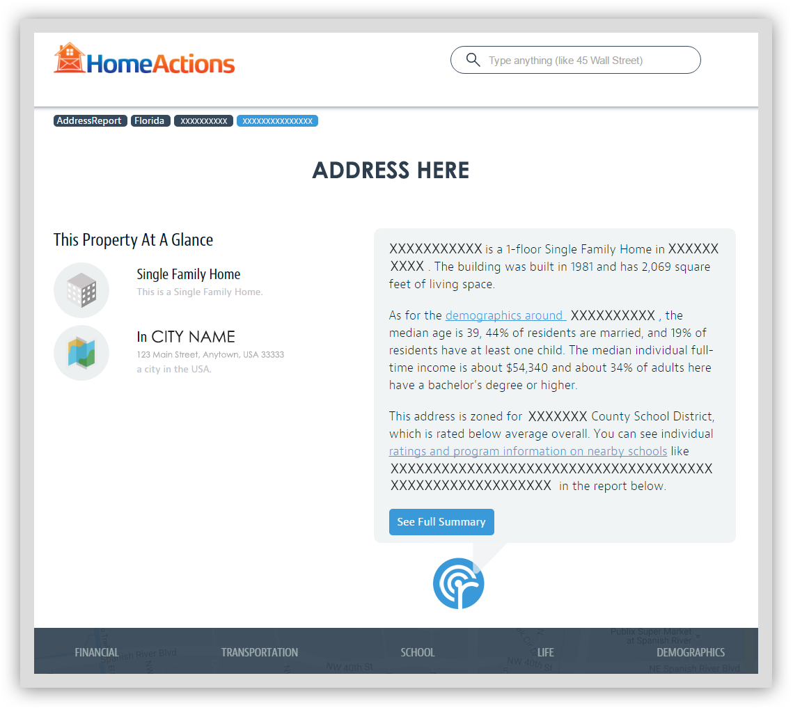 CLICK HERE to view HomeActions Neighborhood360 email newsletter content for real estate agents.