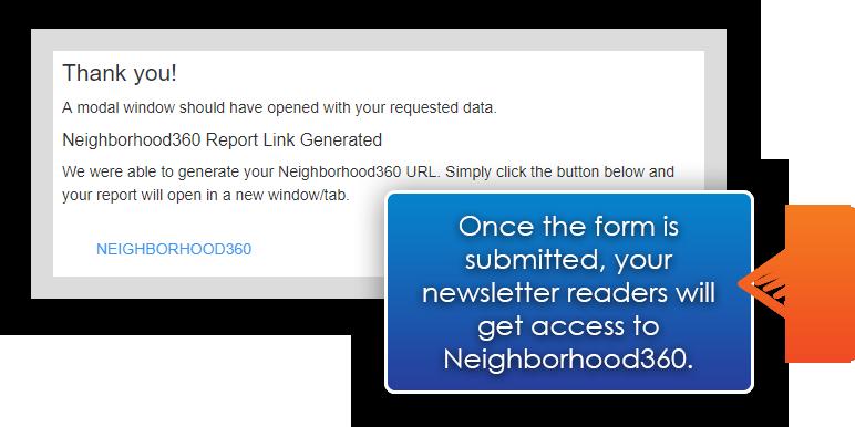Neighborhood360 Thank You Response For Readers