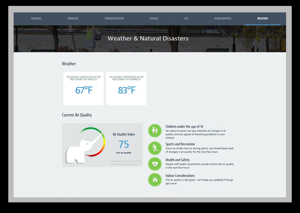 Neighborhood360-AddressReport-Feature-Weather-Preview