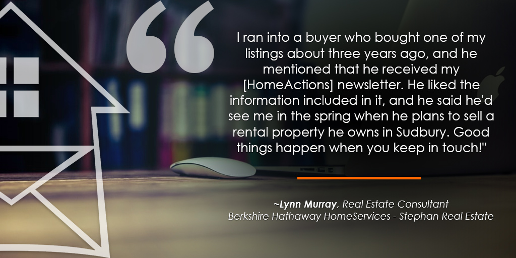 HomeActions Berkshire Hathaway HomeSevices Testimonial from Lynn Murray