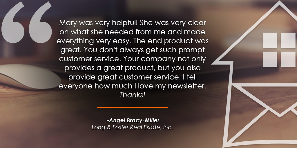 HomeActions Long & Foster Testimonial from Angel Bracy-Miller