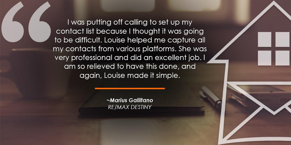 HomeActions REMAX Testimonials Marius Gallitano