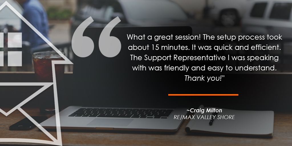 HomeActions REMAX Testimonials from Craig Milton