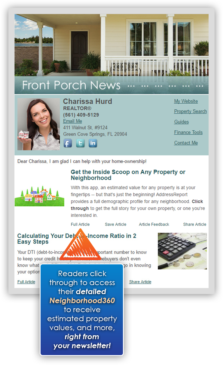 HomeActions Neighborhood360 Newsletter Article Intro