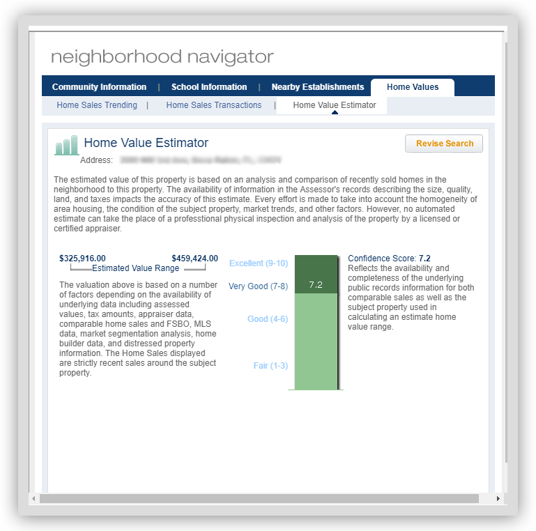 AVM Neighborhood Navigator - Home Value Estimator-v2