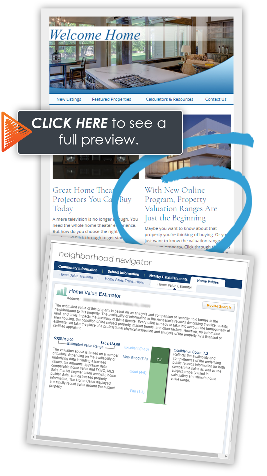 CLICK HERE to view HomeActions AVM email newsletter content for real estate agents.