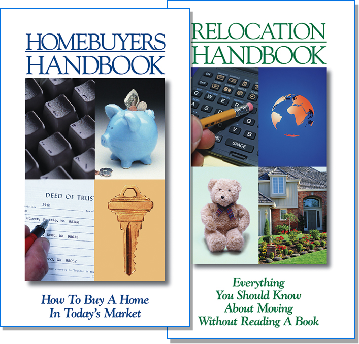 Rainmaker Print Real Estate Handbooks - Instant credibility with leads in a 24-page handout.