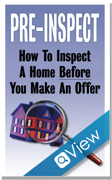 Pre-Inspect Print Products Real Estate Brochures