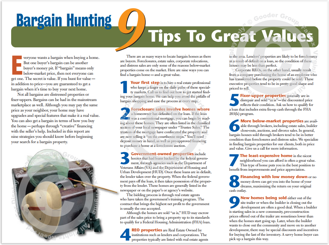 9 Tips To Great Values Print Real Estate Brochure HomeActions Brochure Preview