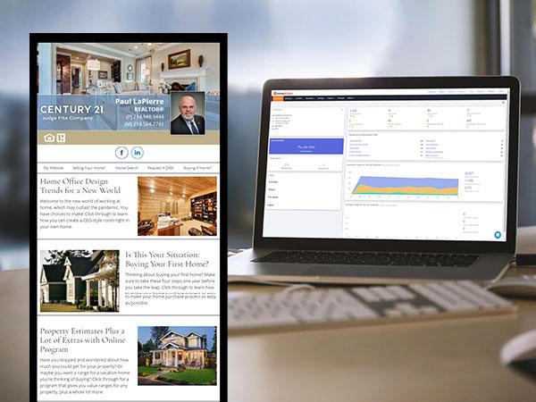 HomeActions Real Estate Digital Marketing Platform